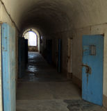 poprzedni więzienie wojskowe Obraz Royalty Free