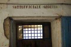 poprzedni więzienie wojskowe Zdjęcia Royalty Free