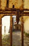 poprzedni więzienie wojskowe Zdjęcia Stock