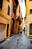 Poprzedni Żydowski getto, Bologna Włochy Fotografia Royalty Free