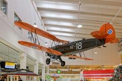 Poprzednia Fińska siły powietrzne Focke-Wulf Fw 44J Stieglitz serialled Obrazy Stock