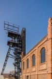 Poprzednia kopalnia węgla Katowicka Obrazy Royalty Free