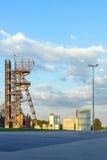 Poprzednia kopalnia węgla 'Katowicka' Fotografia Royalty Free