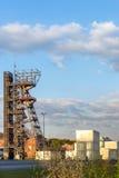 Poprzednia kopalnia węgla Katowicka Zdjęcia Stock