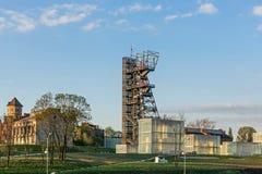 Poprzednia kopalnia węgla Katowicka Zdjęcie Stock