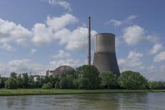 Poprzednia Mà ¼ lheim-Kärlich elektrownia jądrowa rhineland obraz royalty free