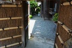 Poprzednia siedziba japoński wielki powieściopisarza ` Toson Shimazaki ` obraz stock