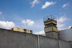 Poprzednia wieża obserwacyjna w Wschodnim Berlin Fotografia Royalty Free