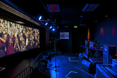 Popsenteret - le bruit - musée interactif de centre Photos libres de droits