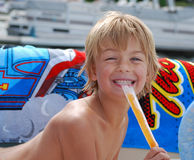 Popsicle di estate fotografie stock
