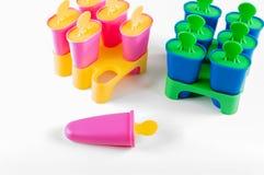 Popsicle filiżanki Fotografia Stock