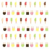 Popsicle scatter  Royalty Free Stock Photo