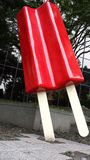 Popsicle. In Seattle Washington stock photos