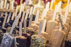 Popsicles мороженого Стоковое Изображение RF