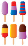 Popsicles Stock Photography