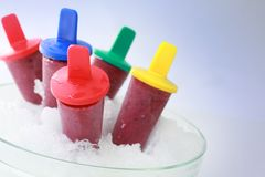Popsicles Royalty Free Stock Photos