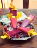 Popsicles Obrazy Stock