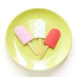 popsicles Royalty-vrije Stock Foto's