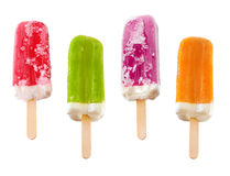 Popsicles stock photo