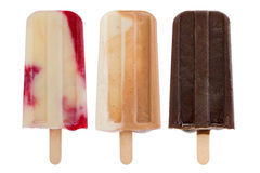 Popsicles casalinghi Immagine Stock