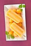 Popsicles casalinghi Fotografia Stock Libera da Diritti