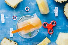 Popsicles homemade Royalty Free Stock Image