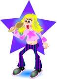 Popstar Foto de archivo libre de regalías