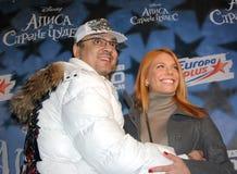 Popstars Philip Kirkorov und Anastasia Stotskaya Stockfoto