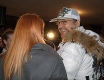 Popstars Philip Kirkorov und Anastasia Stotskaya Lizenzfreie Stockfotos