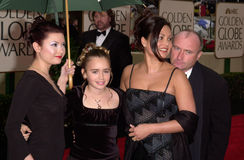 Popstjärnor, Phil Collins Royaltyfri Foto