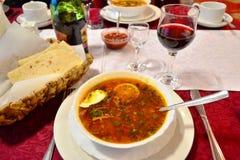 Populär rysk lyxig mat Fotografering för Bildbyråer