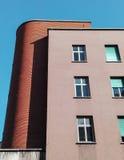 Populära byggnader Arkivfoto