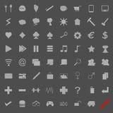 Populära symboler Arkivbild