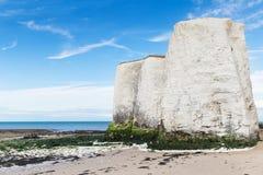 Populäre Küste englischen Kanals Botanik-Bucht-La-Manches, Kent, Englan Stockbilder