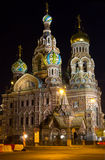 Populäre russische Kirche in St Petersburg Lizenzfreie Stockfotos