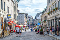 Populäre St- Paulstraße Lizenzfreies Stockfoto