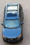 Populäres SUV angesehen von oben genanntem an Key- Biscayneluxus-resort lizenzfreie stockbilder