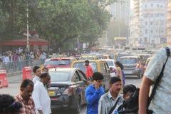 População alta de Mumbai, Índia fotografia de stock royalty free