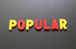 populair Stock Afbeelding