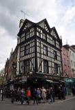 Populaire Engelse Bar in het Eind van het Westen van Londen Royalty-vrije Stock Foto