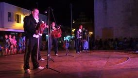 Populaire Mexicaanse Muziek in Merida stock videobeelden