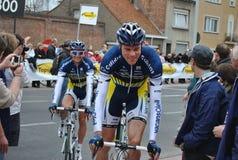 Populaire Nederlandse fietsers Stock Afbeelding