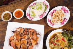 Populaire noordoostelijke Thaise voedselpapaja lalad Royalty-vrije Stock Foto's