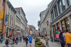Populaire St Paul straat in de Oude Haven Stock Foto's