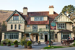 Popular 19th Century English Inn Stock Photo