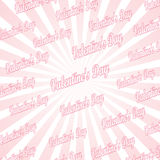 Popular abstract pink and white rays background Royalty Free Stock Image