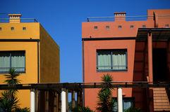 Popular architecture in Portimao 19 Stock Photography