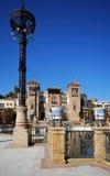 Popular arts museum, Seville, Spain. Stock Photos