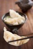 Popular Asian dish dumplings soup Stock Photos