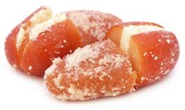 Popular Bangladeshi Sweetmeats Cream Jam Stock Photography